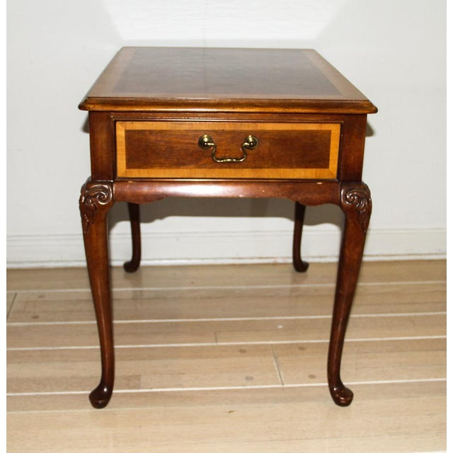 """Vintage Thomasville """"Mahogany Collection"""" End Table - Image 2 of 10"""