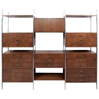 Stylish Vintage Modern Wall Unit