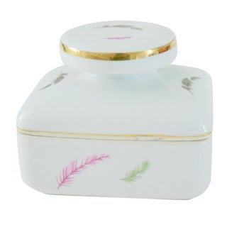 Whispered Feather Trinket Box