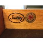 Image of Stickley Harvey Ellis Cherry Buffet & China Hutch