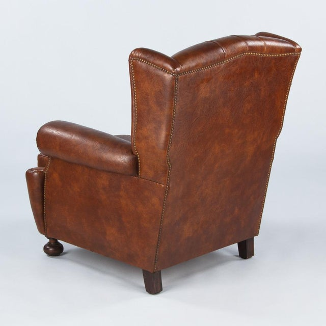 1960s Vintage French Tufted Armchairs - A Pair - Image 5 of 10