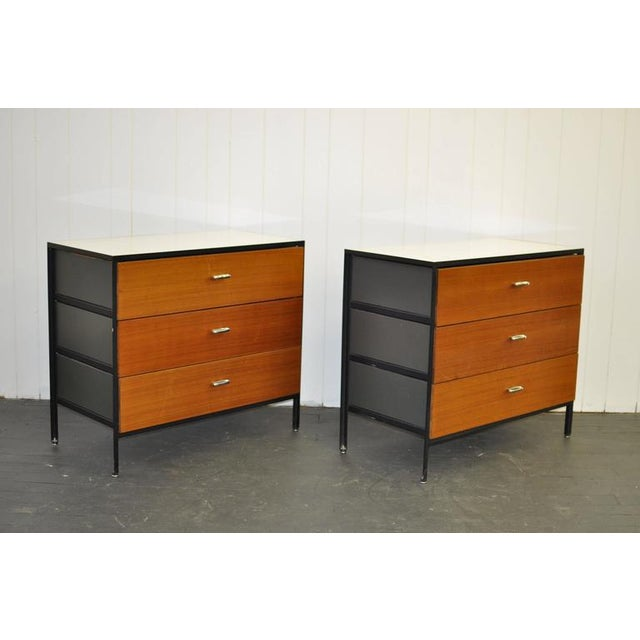 Pair of George Nelson Steel Frame Dressers - Image 2 of 7