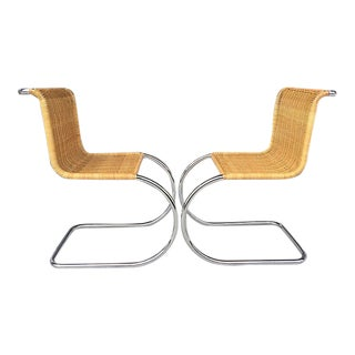 Ludwig Van Der Rohe MR10 Chairs- A Pair