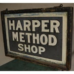Image of Sign for Shop Created by Martha Matilda Harper