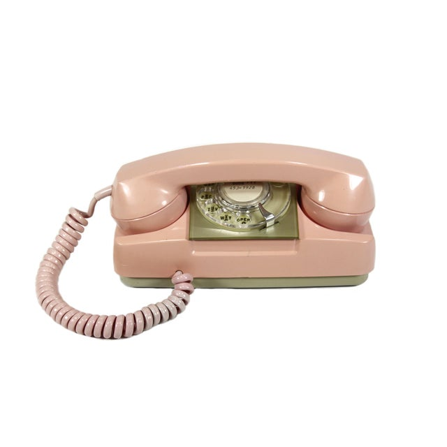 Pink Princess Rotary Telephone - Image 1 of 4