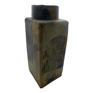 William Wyman Signed American Studio Pottery Stoneware Vase