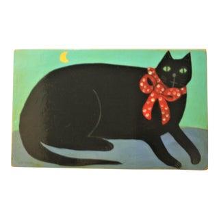 Folk Art Cat by Cate Cristen Waung