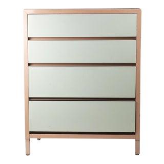 Superior Sleeprite Corp Mid-Century Modern Pink Steel Bachelors Dresser