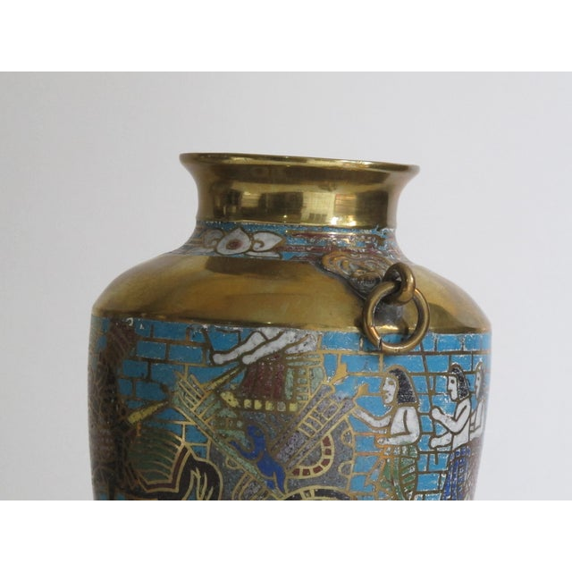 Egyptian Revival Urns - A Pair - Image 8 of 9