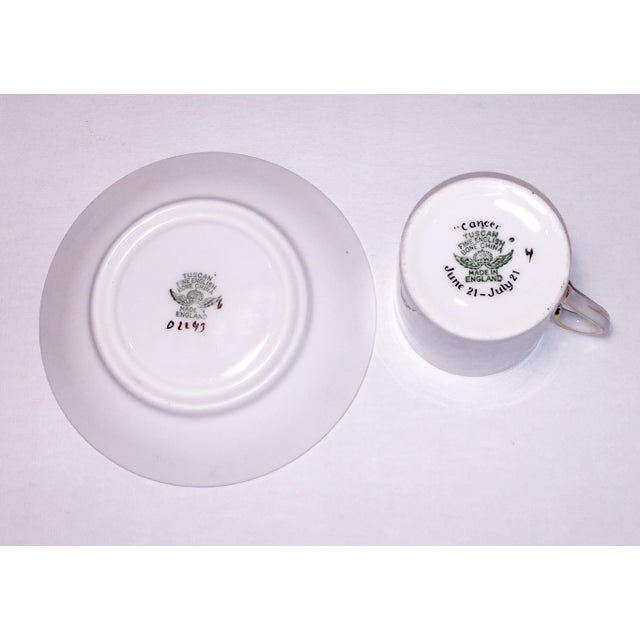 Tuscan English China Gold Lobster Demitasse Cup & Saucer - Image 6 of 6