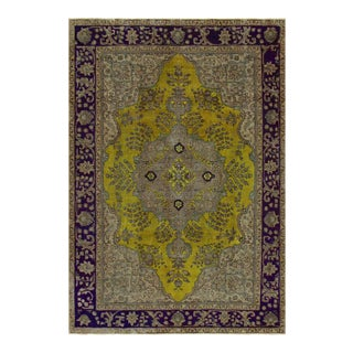 "Hand Painted Color Reform Collection Victor Wool Rug - 6'7"" x 9'7"""