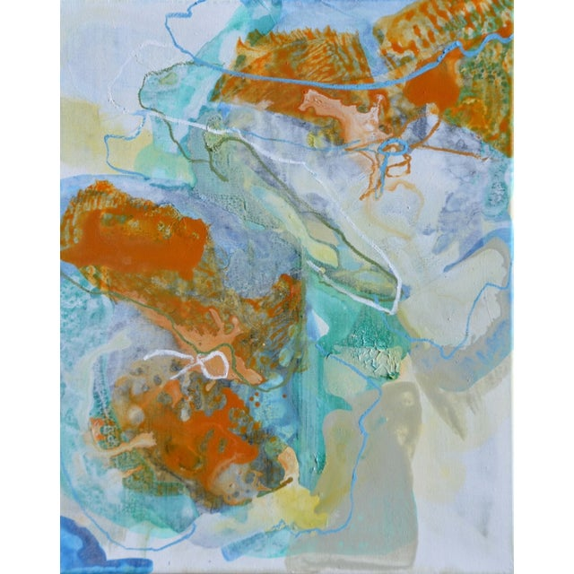 Image of Liz Barber Leventhal Two Gold Painting
