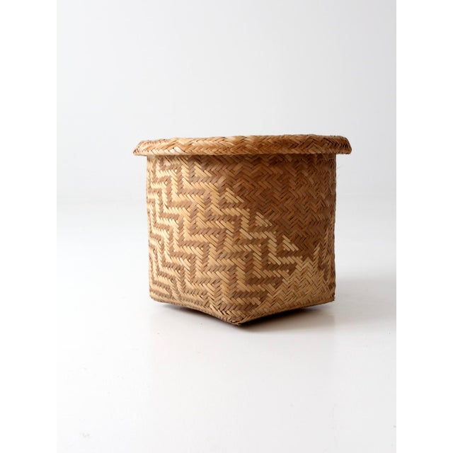 Vintage Indonesian Basket - Image 2 of 9