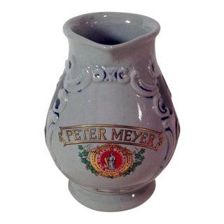 Mid-Century Modern Peter Meyer Wine Pitcher
