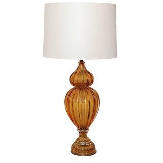 Italian Murano Glass Lamp