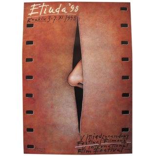 Górowski 1998 Etiuda International Film Festival Poster