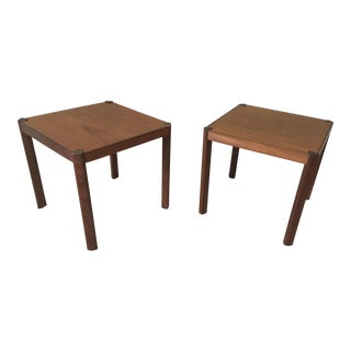 Danish Modern Teak Tables - A Pair