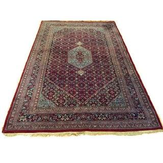 Vintage Tabriz Persian Rug - 5′10″ × 9′3″
