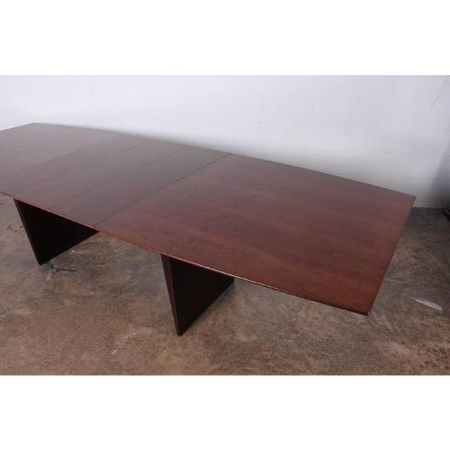 Large Walnut Dining Table by Edward Wormley for Dunbar - Image 9 of 10