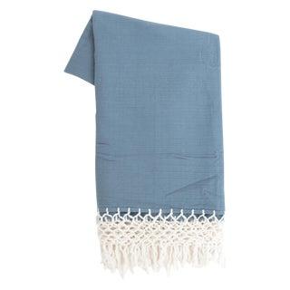 Navy Blue Cotton Tablecloth