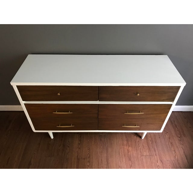 Two-Tone Mid-Century Dresser - Image 6 of 7