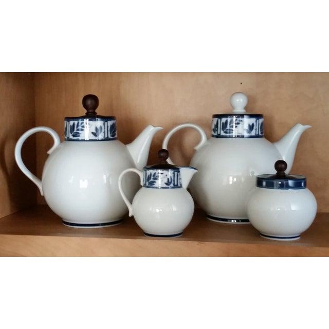 Dansk Ceylon Coffee & Tea Set - Set of 4 - Image 2 of 4