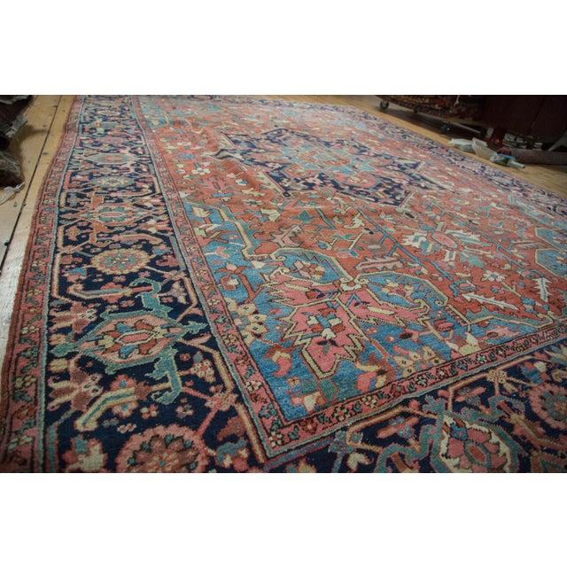 "Vintage Heriz Carpet - 9' X 11'8"" - Image 10 of 10"