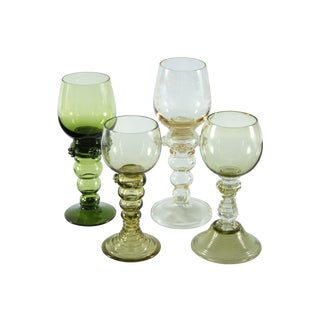 Roemer Style Goblet Mixed Set - Set of 4