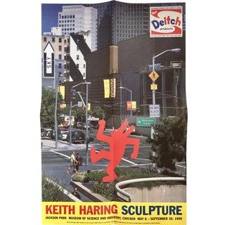 Vintage Keith Haring Exhibit Poster