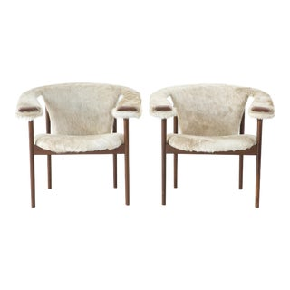 Set of Adrian Pearsall Lounge Chairs - Pair