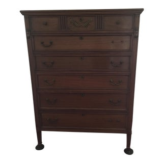 Stately Highboy Chest of Drawers
