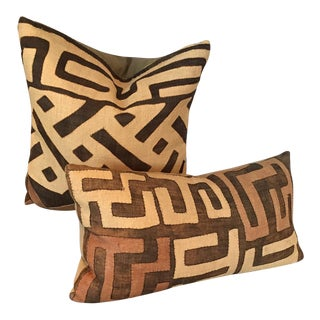 Room & Board Linen Graphic Pillows - A Pair