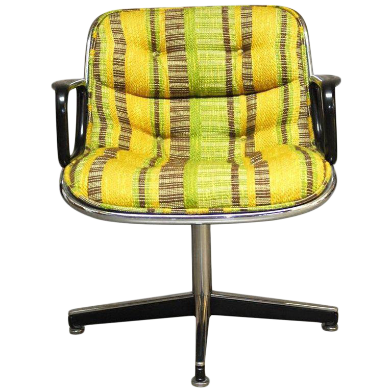 vintage & used yellow office chairs | chairish