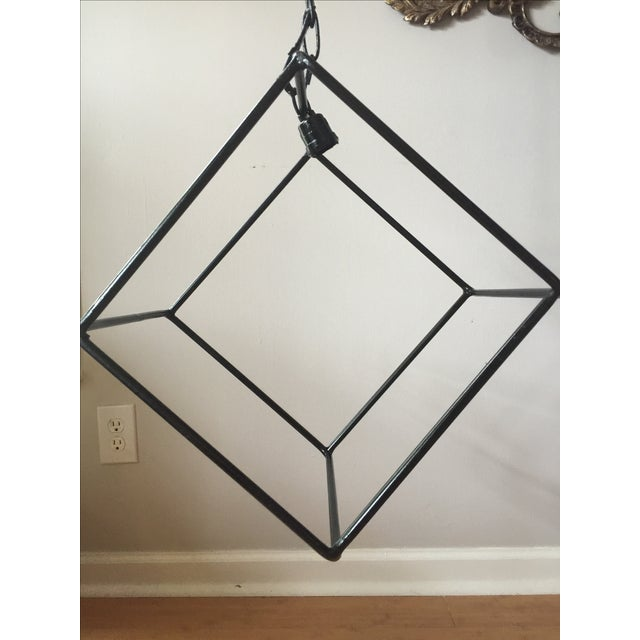 Hand-Forged Iron Pendant Chandelier - Image 2 of 7