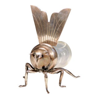 Mappin & Webb Honeypot in The form of A Bee, Circa 1910.