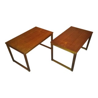 Danish Mid-Century Modern Side Tables - A Pair