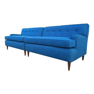 Mid-Century Modern Sectional Sofas - A Pair