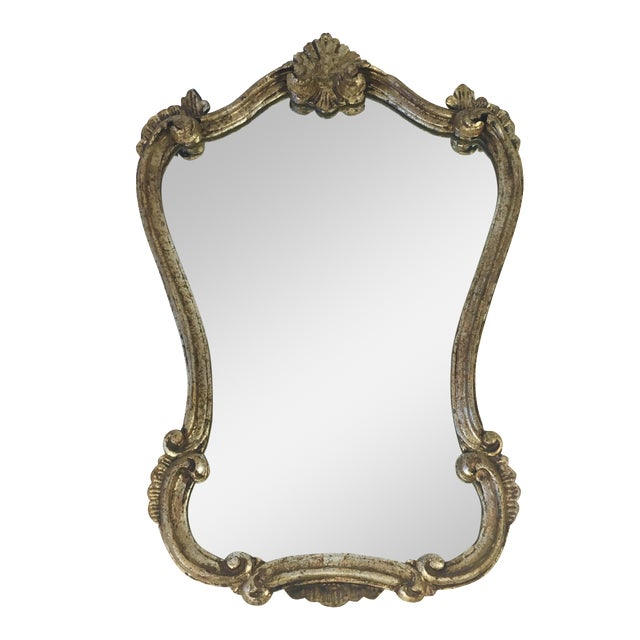 Antique Italian Gilt Wood Mirror - Image 1 of 8