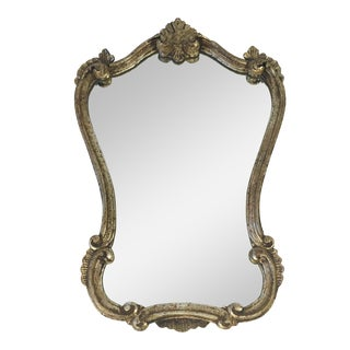 Antique Italian Gilt Wood Mirror