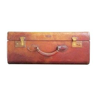 Vintage Hartmann Leather Suitcase/Trunk