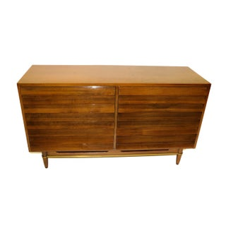 American of Martinsville Walnut Credenza