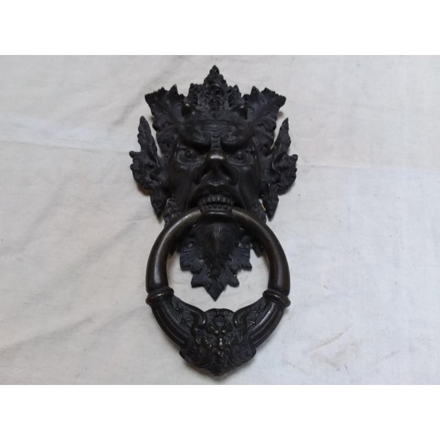 Bronze Mythical Creature Door Knocker - Image 6 of 6
