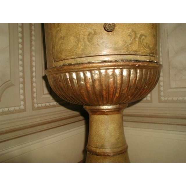 Picie Italian Hand Painted 19th C. Pedestal Table - Image 6 of 10
