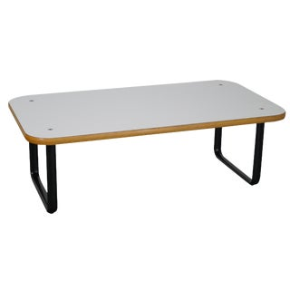 Knoll White Laminate Coffee Table