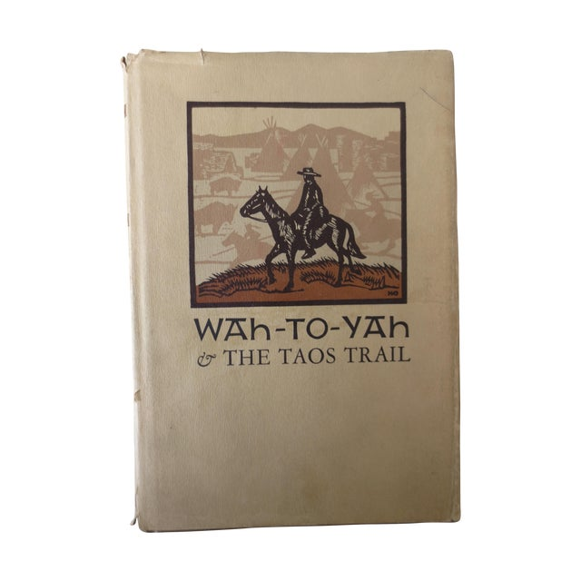 Image of Wah-To-Yah, The Taos Trail Book, 1968