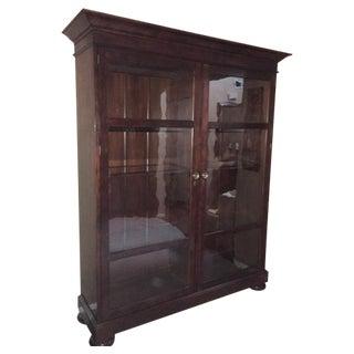 Henredon Glass Enclosed Bookcase