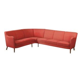 Danish 1940s Corner or Sectional Sofa