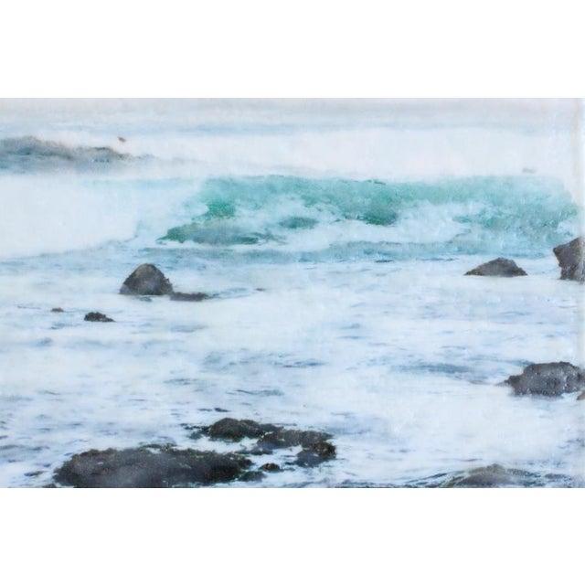 'Crashing' Photo Encaustic Painting - Image 4 of 4