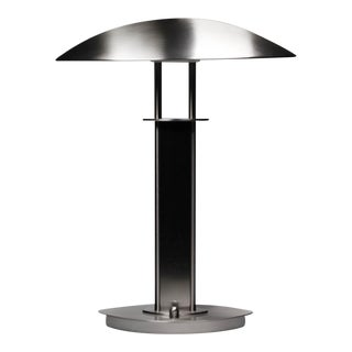 Holkotter Satin Nickel Halogen Desk Lamp