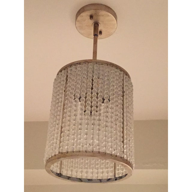 Image of Beaded Pendant Light Fixture